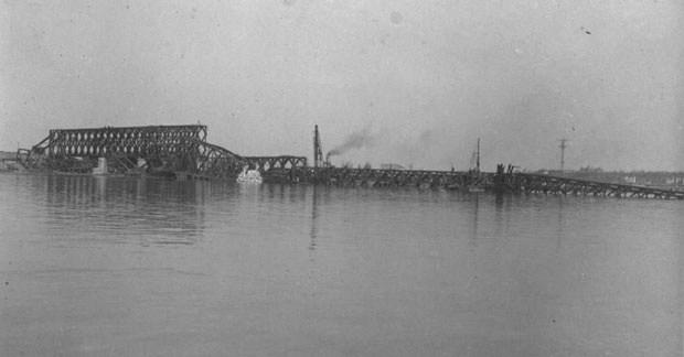"""Партизани били присиљени да минама разбијају """"чепове"""" од људских тела на срушеном мосту која су стизала из Хрватске Две реке, Сава и Дунав, на неки начин"""