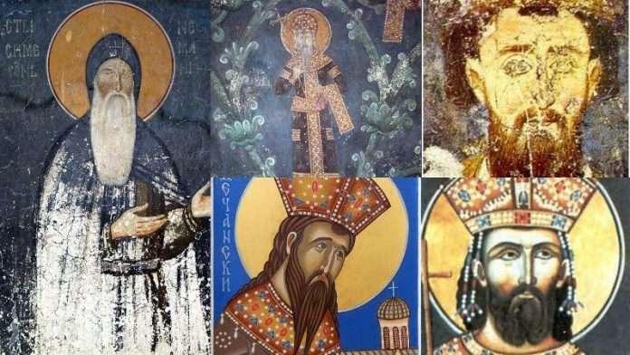 Photo of Крунисање српског краља – Стефана Првовенчаног – у Жичи на Спасовдан 1221.