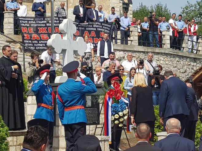 Photo of Стари Брод: Освештан спомен музеј; одржан помен за 6 000 убијених Срба (ВИДЕО)
