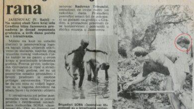 Photo of Диклић… о Српским костима које је вадио као бригадир из реке Саве