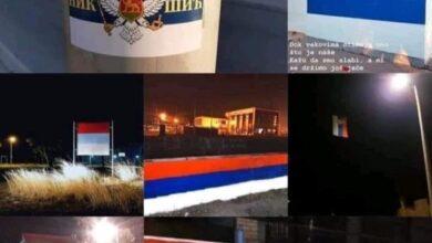 Photo of Чудним песмама против Српских молебана и литија за одбрану светиња… а Црна Гора осванула у три боје! (видео, фотографије)
