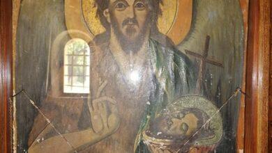 Photo of Бојанић: Чудотворна икона Св. Јована Крститеља у манастиру Св. Никола у селу Манастири