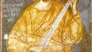 Photo of Једина фреска на свету у којој Христос држи мач, налази се у Србији