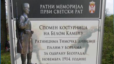 Photo of Спомен – костурница на Космају