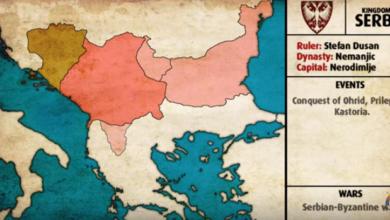 Photo of Историја Србије од 631. године у петнаестоминутном видеу: Генијални приказ како се српска карта мењала од Свевладовића до данас