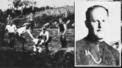 Photo of УСТАШKИ KОЉАЧ ФРА САТАНА: Мајка му била Српкиња, а он српску децу крамповима клао!