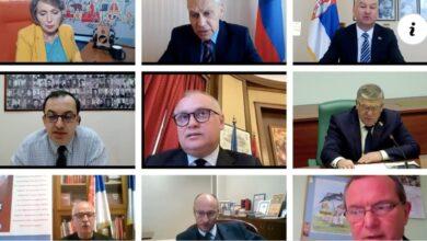 """Photo of Одржана онлајн конференција """"Бесмртни пук 2021. – Кораком предака, кораком победе"""""""